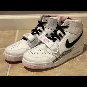 Nike Air Jordan Legacy 312 GS White Black Pink